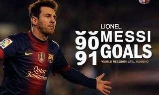 כך שבר מסי את שיא העולם בכיבוש שערים