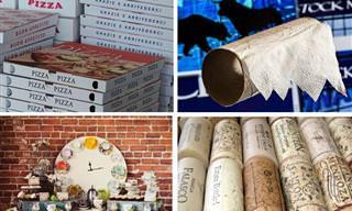 אוסף מדריכי יצירה מחפצים ישנים ולא שימושיים