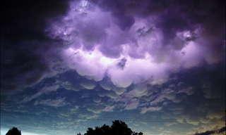 תמונות מדהימות של עננים!