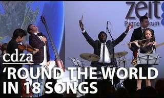 מוזיקה חובקת עולם - 18 מנגינות ב-5 דקות!