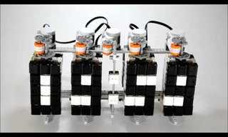 שעון רובוטי מקובייה הונגרית