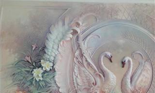 תבליטי הקירות המדהימים של האמן גוגה טנדאשווילי