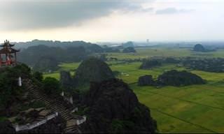 מפה אינטראקטיבית לטיול באסיה