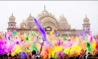 פסטיבל הולי - חגיגה של צבעים!