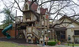 זה כנראה בית העץ המושקע והיפה בעולם