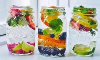 תחליפים בריאים למים בטעמים