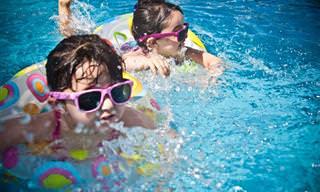 דברים שכדאי שתשימו לב אליהם לפני שילדיכם נכנסים לבריכה