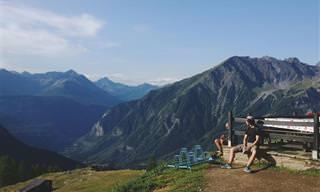 מסע בגג של אירופה – מסלול סובב מון בלאן