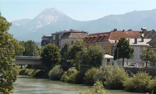מפה אינטראקטיבית לטיול פלאי באוסטריה