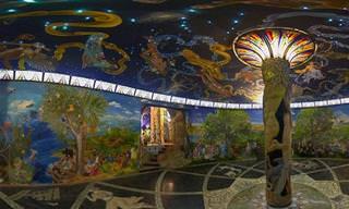 מקדש האנושות בדמנהור - הפלא השמיני של העולם