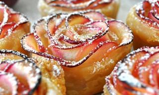 תפוחים פורחים - קינוח פשוט ומפנק שכל אחד ישמח לטעום