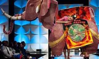 """16 תלבושות מדהימות שהוצגו בתחרות """"מיס תבל"""" לשנת 2019"""