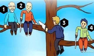 בחרו את האדם שעושה את הטעות הגדולה ביותר בעיניכם בתמונה הבאה...