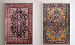 יצירות אומנות מדהימות משטיחים של האומן ג'ייסון סיף