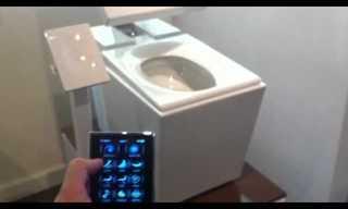 אסלה הטכנולוגית - חוויית שירותים מדהימה!