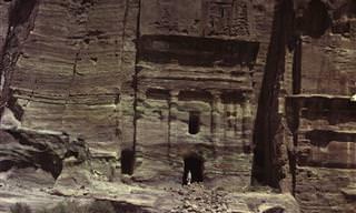 15 תמונות צבע נדירות מהסלע האדום שבפטרה