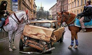 19 תמונות שמציגות את אופייה האמיתי של סנט פטרסבורג
