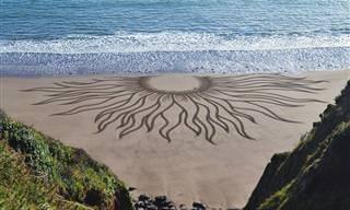 15 יצירות אומנות טבעיות מדהימות