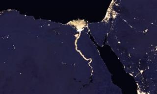 תמונות מדהימות של כדור הארץ בלילה