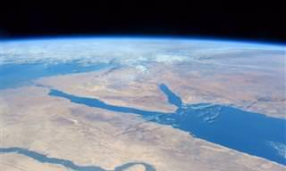 16 תמונות שמראות איך נראה כדור הארץ מעיניו של אסטרונאוט
