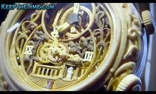 שעוני העץ - עיצובים מדהימים!