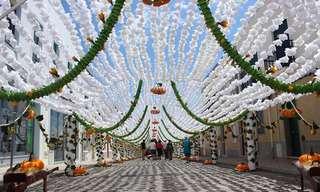 פסטיבל הפרחים בקמפו מאיור, פורטוגל