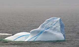 קרחונים יפייפים במגוון צורות וצבעים