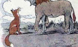 ההיגיון של מלך החיות - משל עם מוסר השכל