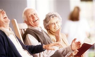 אוסף בדיחות על אהבה ויחסים בגיל הזהב