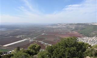 8 אתרי טבע ומסלולים בעמק יזרעאל וסביבתו