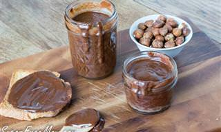 מתכון ביתי לממרח שוקולד אגוזים ללא סוכר