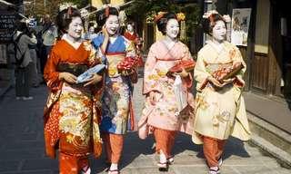 תלבושות מסורתיות ומרהיבות מהעולם