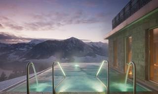 12 המלונות שיאפשרו לכם להתחבר לטבע בחורף