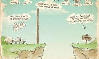 הובילו את הכבשים לביתן - משחק מחשבה מדליק