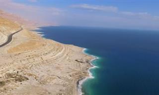 סרטון שמזכיר את יופיו של ים המלח