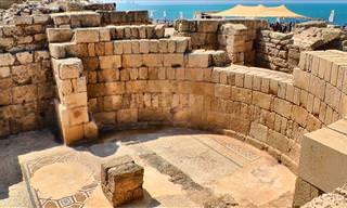 מסע מרתק במנהרת הזמן בחורבותיה של קיסריה העתיקה