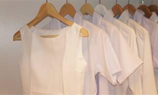 7 טריקים פשוטים ויעילים לניקוי והלבנת בגדים לבנים