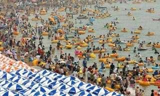 תמונות מצחיקות של קיץ על החוף
