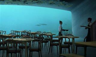 המסעדה התת-ימית האירופאית הראשונה והגדולה בעולם