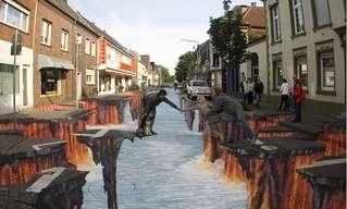 אומנות ברחוב ומהרחוב - לא יאומן!