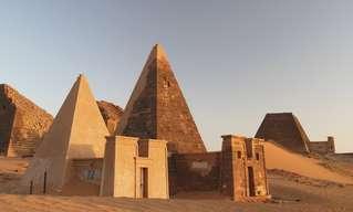הפירמידות הנשכחות בסודן