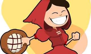 כיפה אדומה: הגרסה האמיתית - מצחיק!