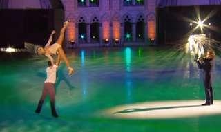 אנדרה ריו במופע ייחודי ומדהים על הקרח