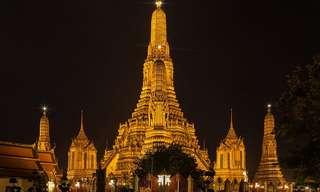 תמונות ייחודיות ממקדשים בודהיסטים בתאילנד