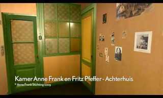 הבית של אנה פרנק בתלת מימד אינטראקטיבי