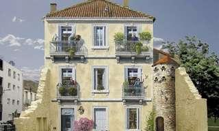 ציורי תלת מימד על בניינים