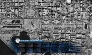 תמונות הלוויין של GeoEye בלוח שנה!
