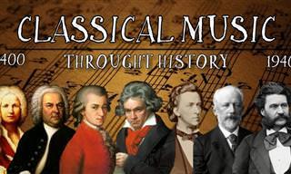 התפתחות המוזיקה הקלאסית לאורך השנים