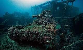 בית קברות מתחת למים - מדהים!
