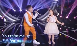 לשני הילדים האלה יש קול של מלאכים, פשוט תענוג!